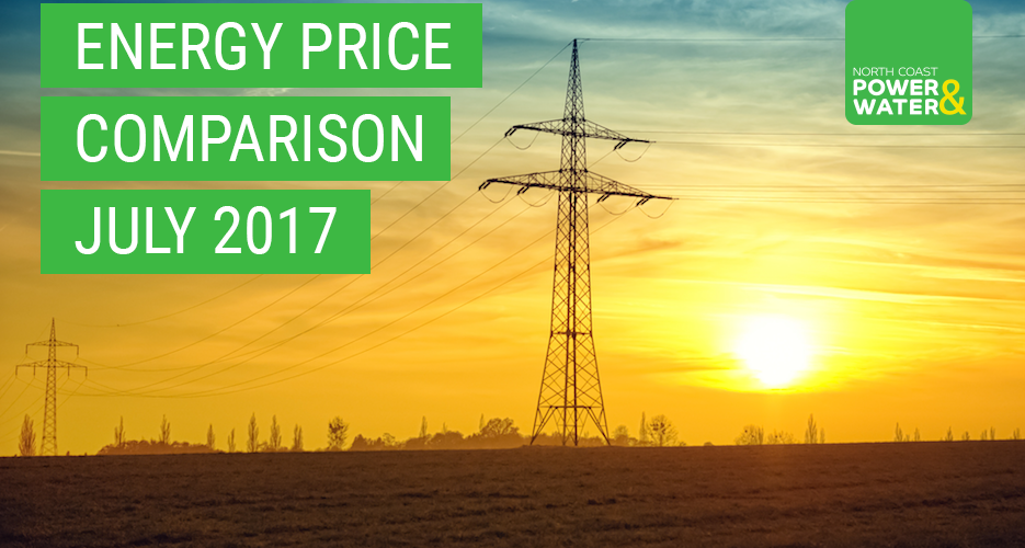 Energy Price Comparison JULY 2017
