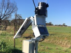 Irrigaion monitoring system within a farm