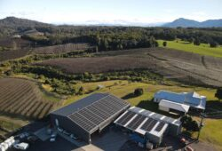 A farm in Coffs Harbour with Solar Panels on the roof